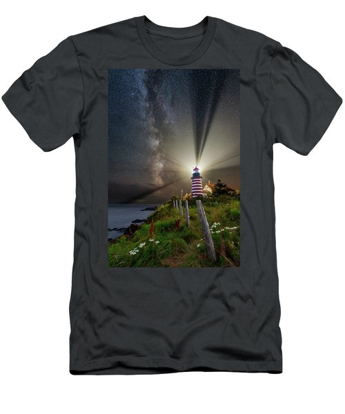 Night Over West Quoddy Men's T-Shirt (Athletic Fit)