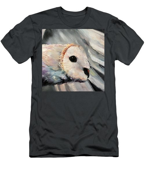Night Owl Men's T-Shirt (Slim Fit) by Michele Carter