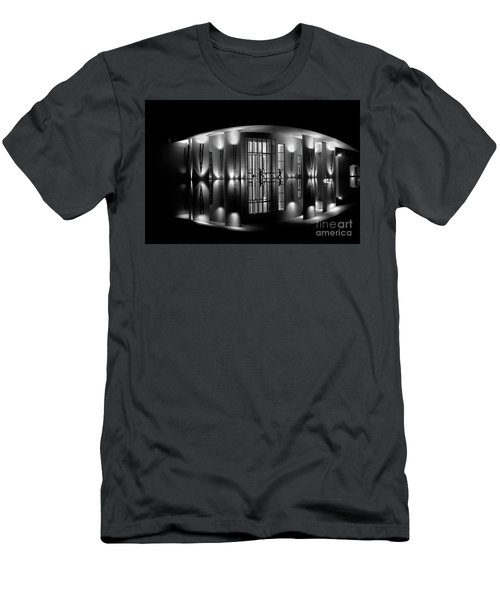 Night Reflection Men's T-Shirt (Slim Fit) by M G Whittingham