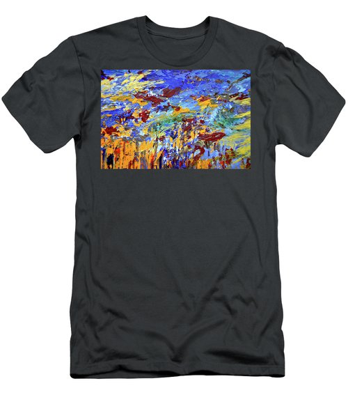 Night Sea Scape Men's T-Shirt (Athletic Fit)