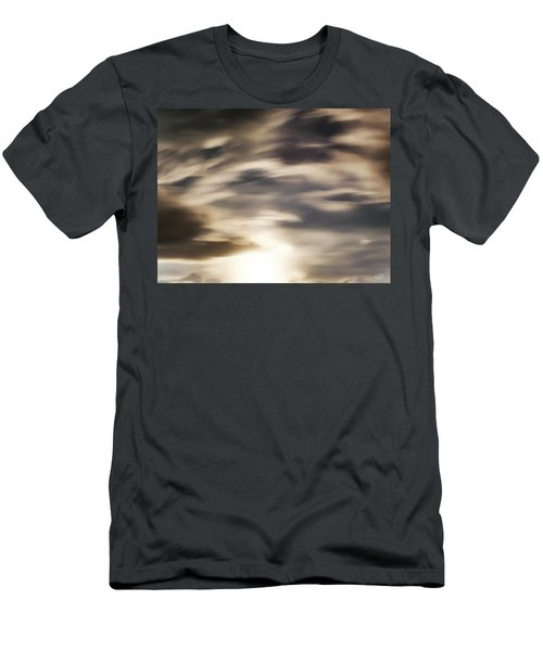 Men's T-Shirt (Slim Fit) featuring the photograph Night Sky 1 by Leland D Howard