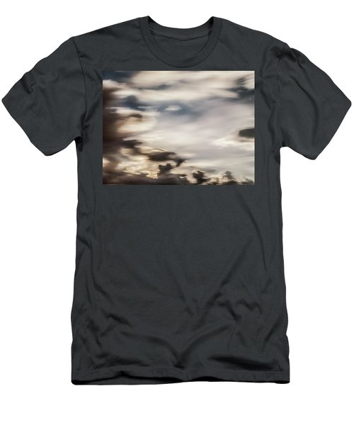 Men's T-Shirt (Slim Fit) featuring the photograph Night Sky 2 by Leland D Howard