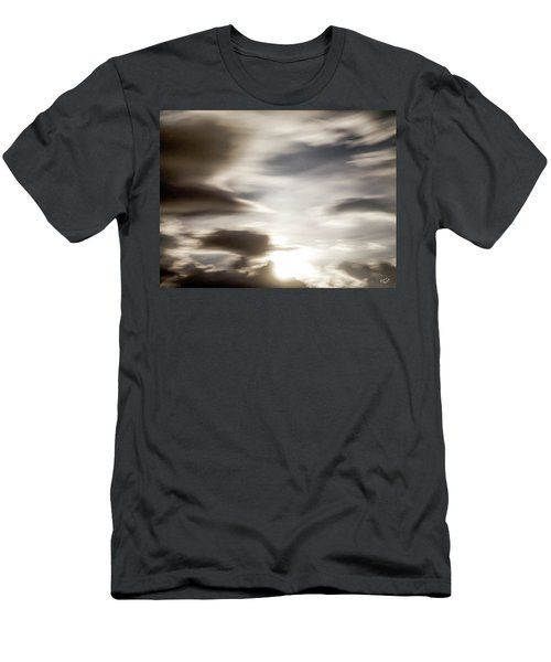 Men's T-Shirt (Slim Fit) featuring the photograph Night Sky 4 by Leland D Howard