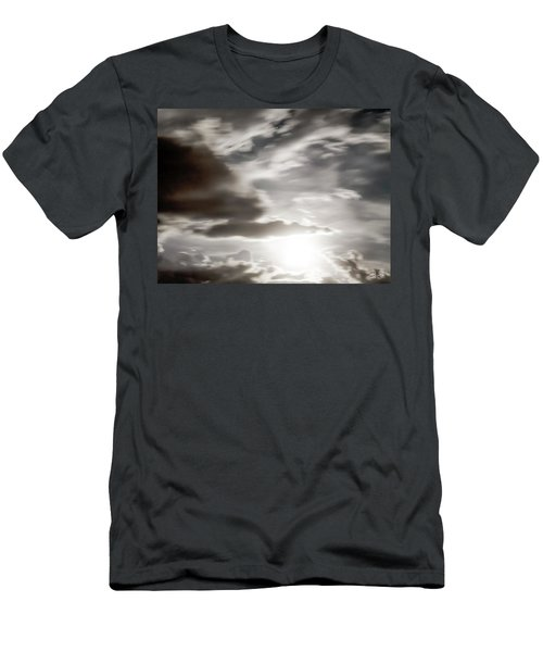 Men's T-Shirt (Slim Fit) featuring the photograph Night Sky 5 by Leland D Howard