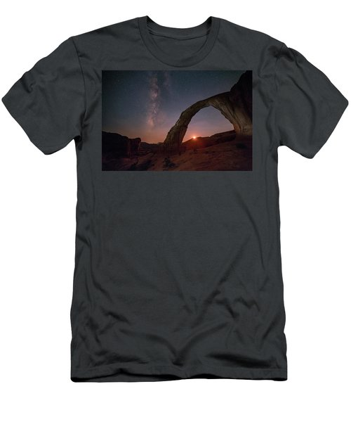 Night Sky At Corona Ach Men's T-Shirt (Athletic Fit)
