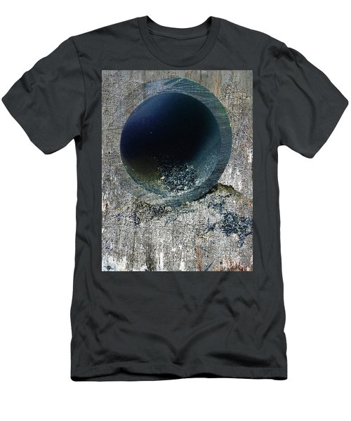 Men's T-Shirt (Slim Fit) featuring the mixed media Night by Tony Rubino