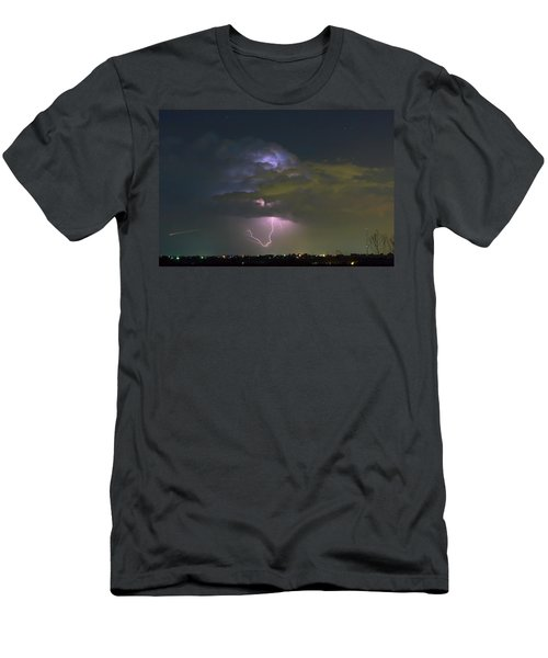 Men's T-Shirt (Slim Fit) featuring the photograph Night Tripper by James BO Insogna