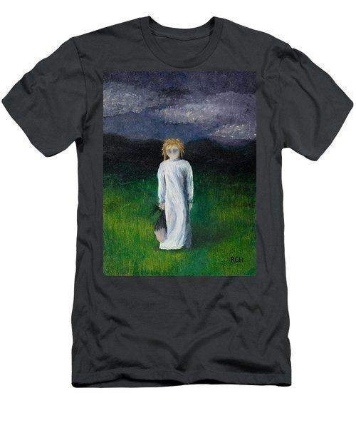 Night Walk Men's T-Shirt (Athletic Fit)