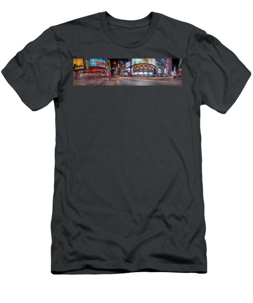 Nights On Broadway Men's T-Shirt (Athletic Fit)