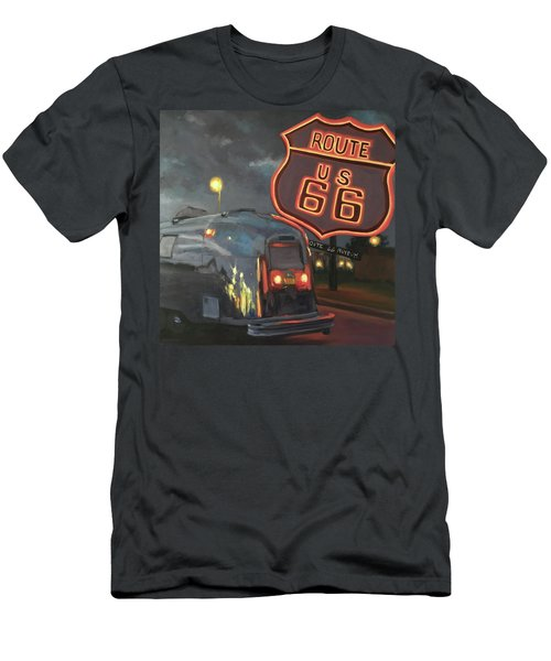 Nighttime Cruise Men's T-Shirt (Athletic Fit)