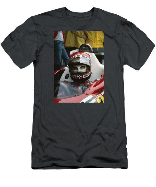 Niki Lauda. 1977 Austrian Grand Prix Men's T-Shirt (Athletic Fit)