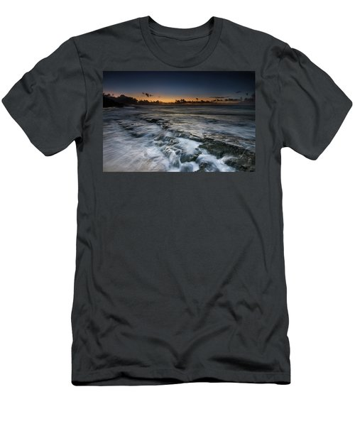 Nimitz Beach Sunrise Men's T-Shirt (Athletic Fit)