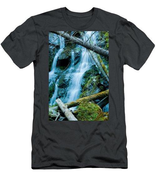 Nine Mile Falls Men's T-Shirt (Athletic Fit)