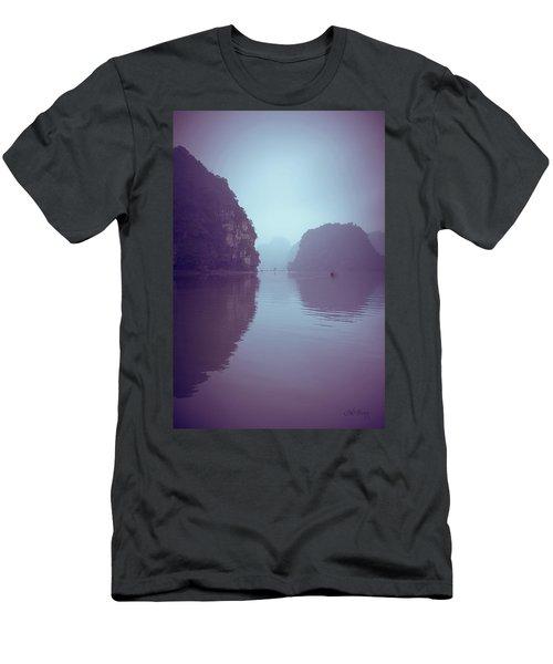 Ninh Binh River Men's T-Shirt (Slim Fit) by Joseph Westrupp