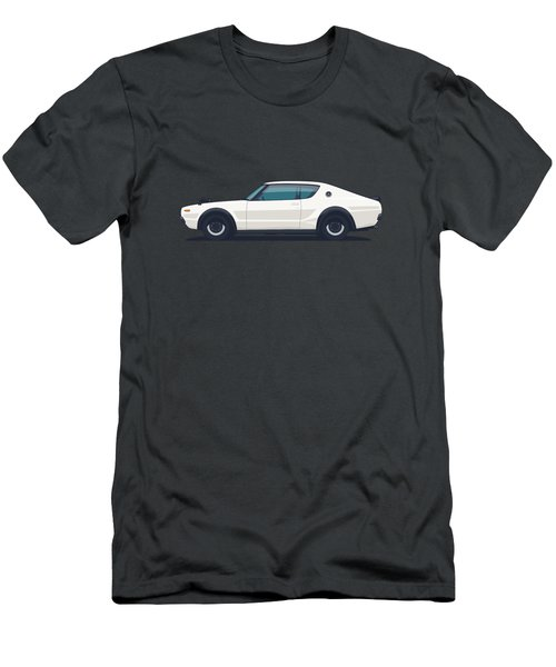 Nissan Skyline Gt-r C110 Side - Plain White Men's T-Shirt (Athletic Fit)