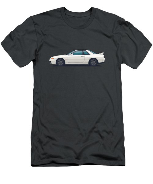 Nissan Skyline R32 Gt-r - Plain White Men's T-Shirt (Athletic Fit)