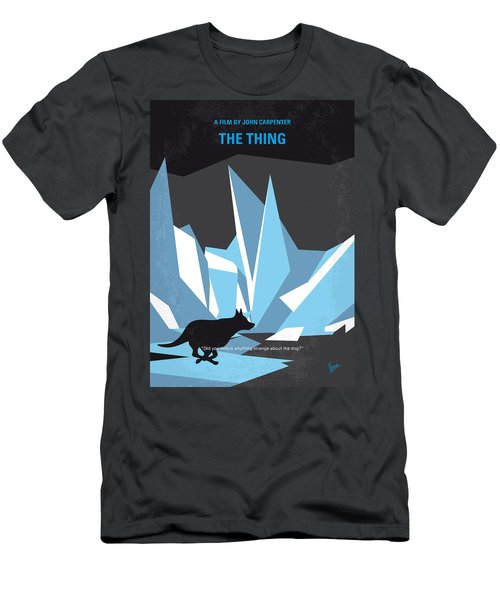 No466 My The Thing Minimal Movie Poster Men's T-Shirt (Athletic Fit)