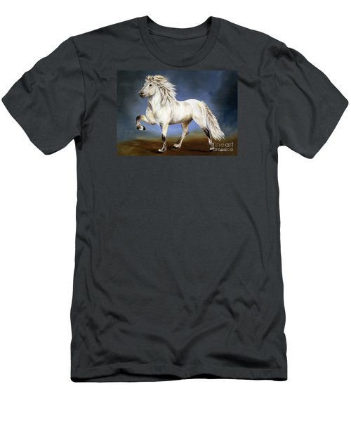 Nobility  Icelandic Horse Men's T-Shirt (Athletic Fit)