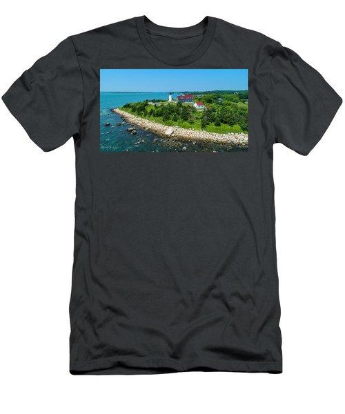 Nobska Lighthouse Men's T-Shirt (Athletic Fit)