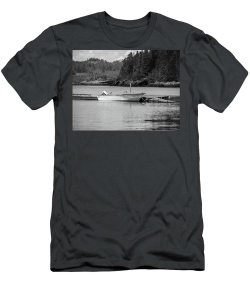 Noca Scotia In Black And White  Men's T-Shirt (Athletic Fit)