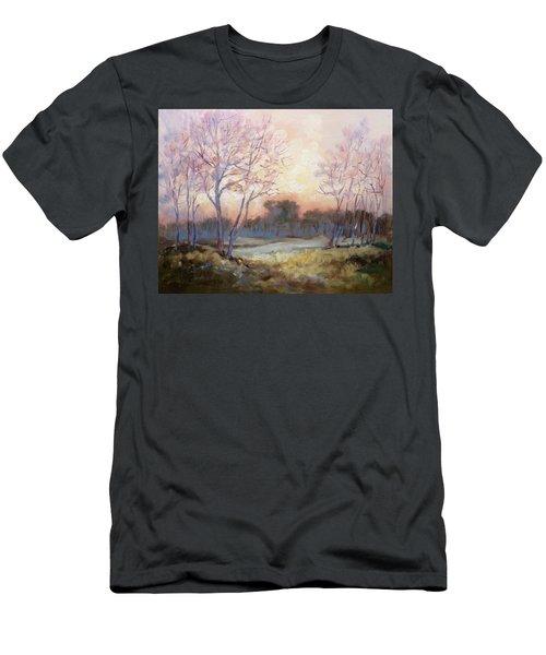 Nocturnal Landscape Men's T-Shirt (Athletic Fit)