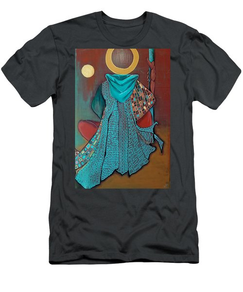 Nor The Moon By Night Men's T-Shirt (Athletic Fit)