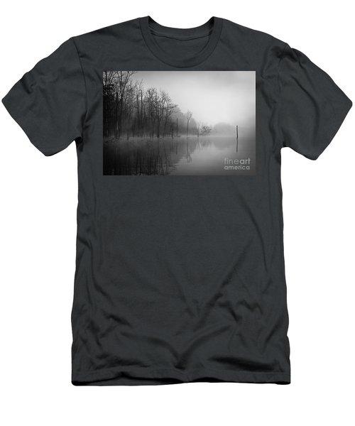 Norris Lake April 2015 3 Men's T-Shirt (Slim Fit) by Douglas Stucky