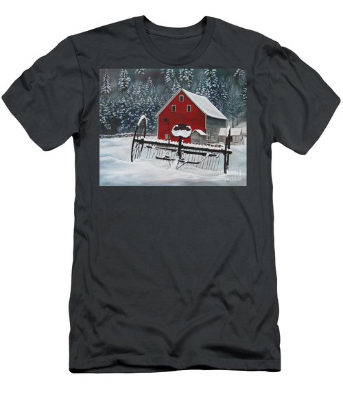 North Country Winter Men's T-Shirt (Athletic Fit)