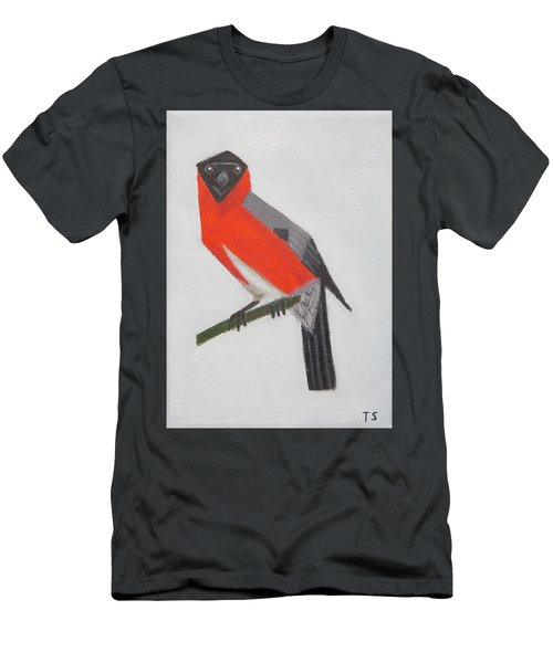 Northern Bullfinch Men's T-Shirt (Athletic Fit)