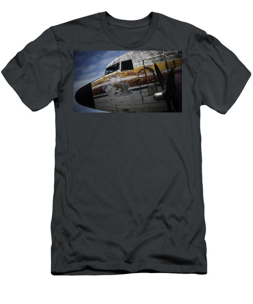 Nose Art Men's T-Shirt (Slim Fit) by Michael Nowotny
