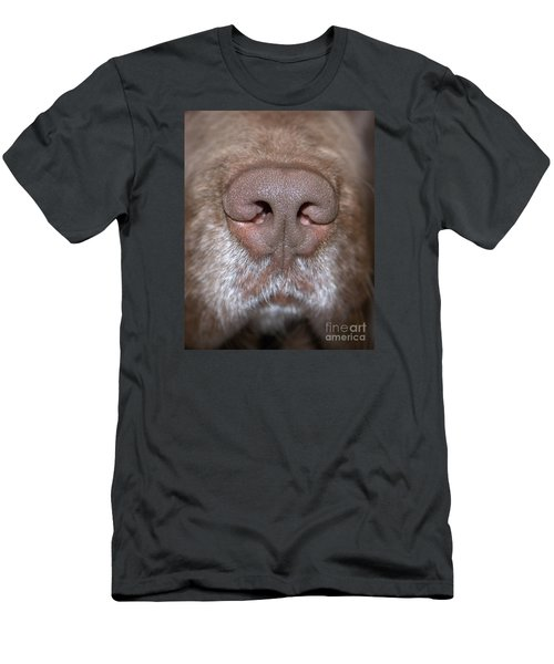 Men's T-Shirt (Slim Fit) featuring the photograph Nosey by Debbie Stahre