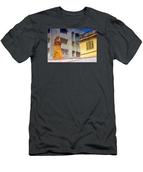 Not Sure Men's T-Shirt (Slim Fit) by Prakash Ghai