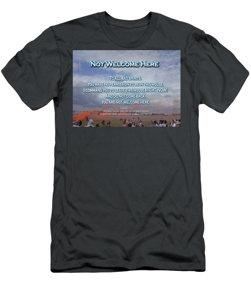 Not Welcome Here Men's T-Shirt (Athletic Fit)