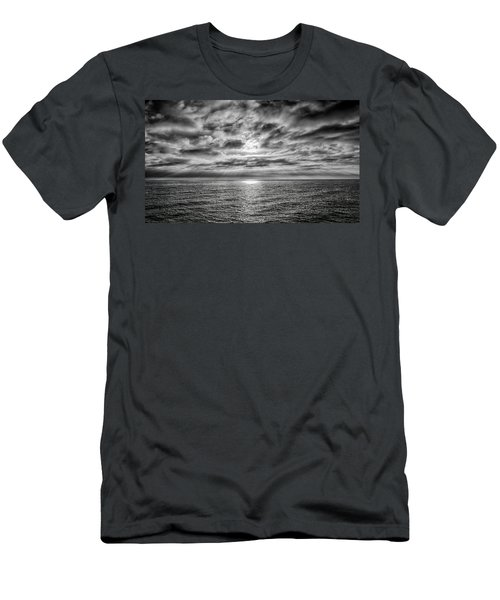 Men's T-Shirt (Slim Fit) featuring the photograph Nothing Something Or All by Joseph Hollingsworth