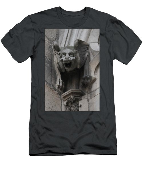 Notre Dame 1 Men's T-Shirt (Slim Fit) by Christopher Kirby