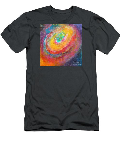 Fantasies In Space Series Painting. Aurora Concerto.  Men's T-Shirt (Athletic Fit)