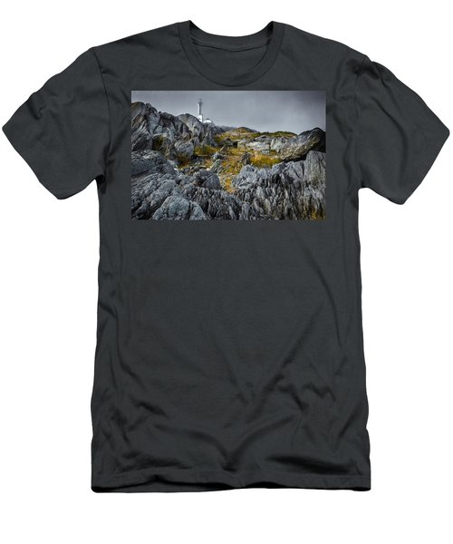 Men's T-Shirt (Athletic Fit) featuring the photograph Nova Scotia's Rocky Shore by Garvin Hunter