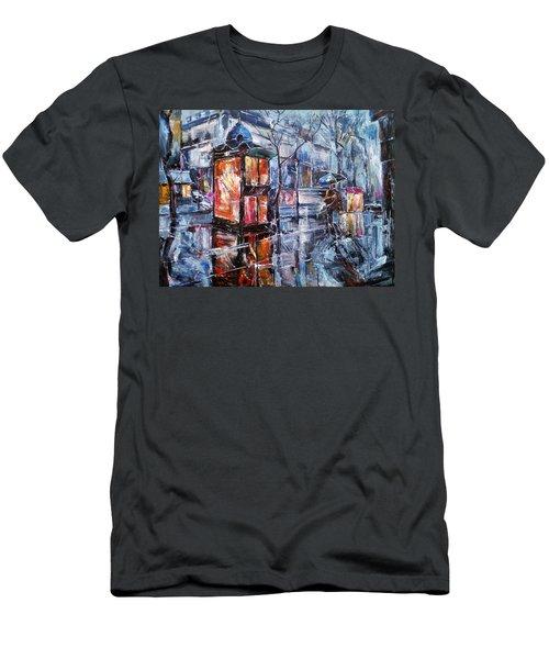 November Walk II Men's T-Shirt (Athletic Fit)