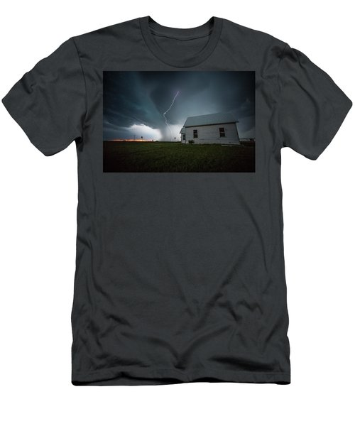 Men's T-Shirt (Athletic Fit) featuring the photograph Nowhere To Run by Aaron J Groen