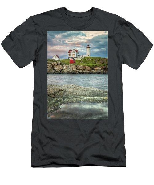 Nubble Light Men's T-Shirt (Slim Fit) by Brian Caldwell