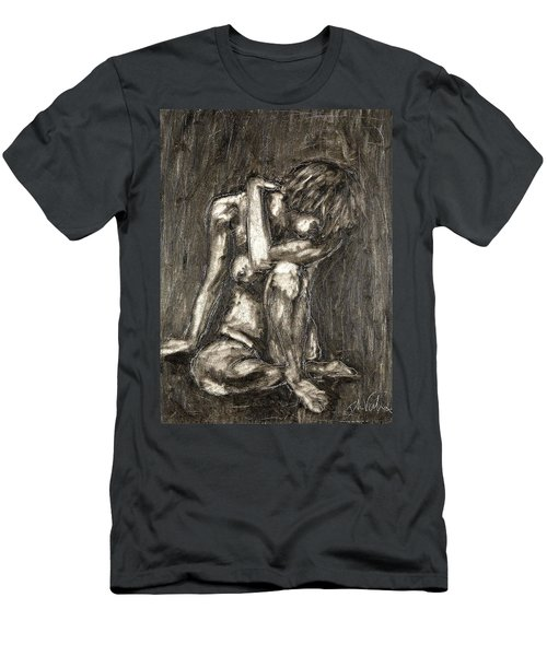 Nude Men's T-Shirt (Athletic Fit)