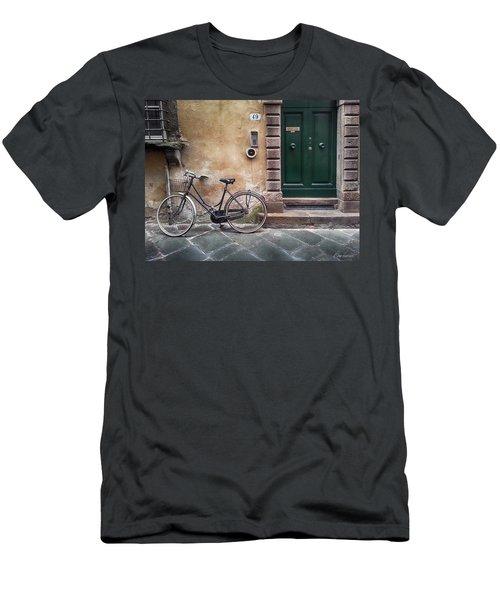 Number 49 Men's T-Shirt (Athletic Fit)