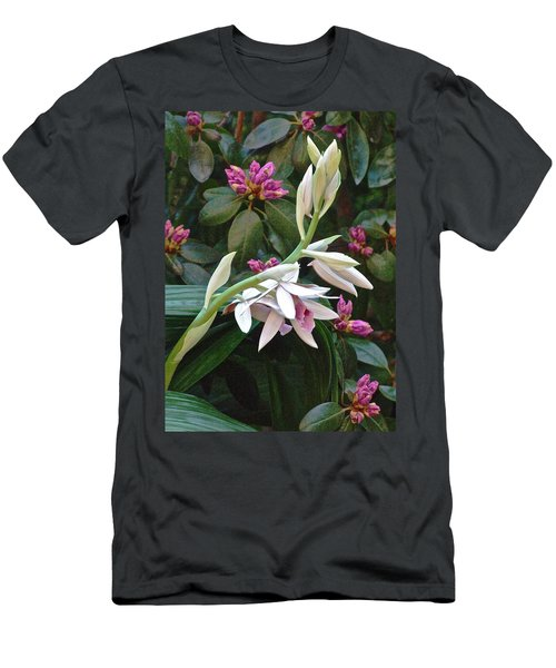 Nun Orchid Men's T-Shirt (Athletic Fit)