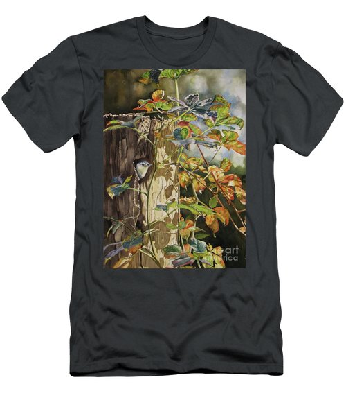Nuthatch And Creeper Men's T-Shirt (Athletic Fit)