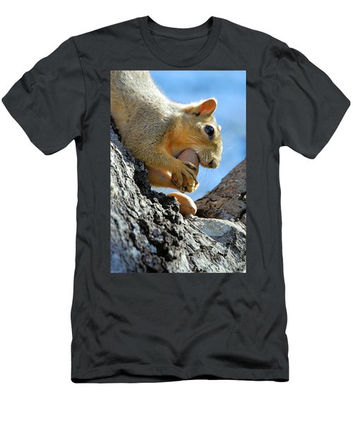 Men's T-Shirt (Slim Fit) featuring the photograph Nutjob by Debbie Karnes