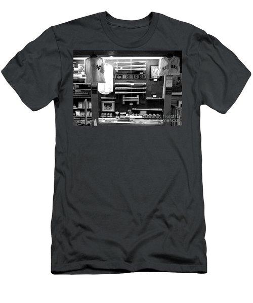 Ny Yankees Red Soxs Display Bw Baseball  Men's T-Shirt (Athletic Fit)