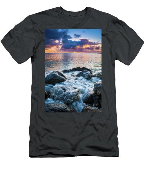 Oahu Shoreline Men's T-Shirt (Athletic Fit)