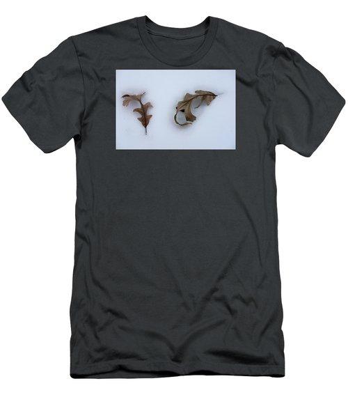 Oak Leaves Men's T-Shirt (Athletic Fit)