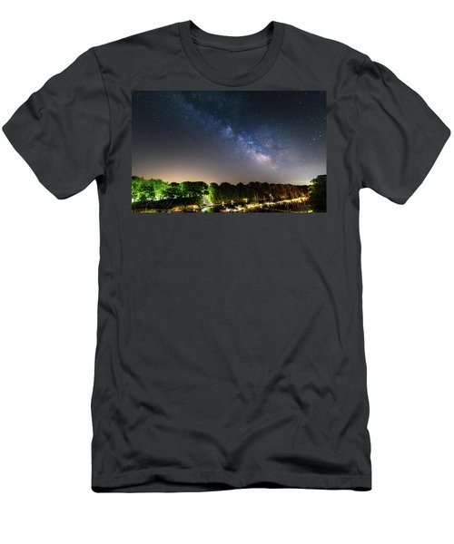 Oak Orchard Milky Way Men's T-Shirt (Athletic Fit)