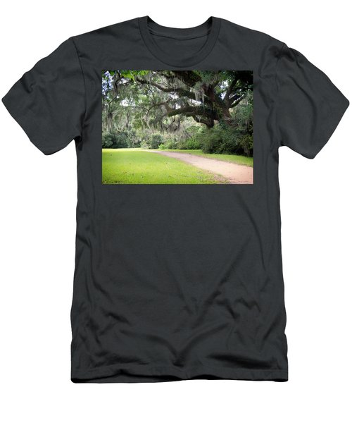 Oak Over The Trail Men's T-Shirt (Athletic Fit)